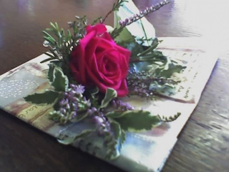 Highland Red Buttonhole