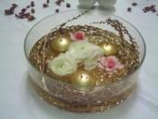Floating Gold wedding